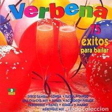 Discos de vinilo: VERBENA - 75 EXITOS PARA BAILAR . TRIPLE LP . 1993 DIVUCSA . Lote 32605583