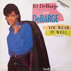 Discos de vinilo: EL DEBARGE WITH DEBARGE - YOU WEAR IT WELL . MAXI SINGLE . 1985 MOTOWN SPAIN. Lote 32605631