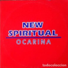 Discos de vinilo: NEW SPIRITUAL - OCARINA . MAXI SINGLE . 1993 Z.K.A. RECORDS . Lote 32655483