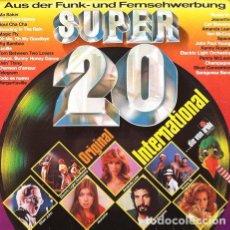 Discos de vinilo: SUPER 20 INTERNATIONAL . DOBLE LP . 1977 ARIOLA GERMANY. Lote 32701220
