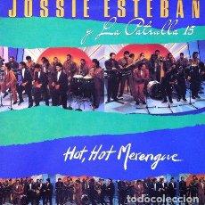 Discos de vinilo: JOSSIE ESTEBAN & LA PATRULLA 15 - HOT HOT MERENGUE . LP . 1992 MANZANA PROD DISCOGRAFICAS. Lote 32704160