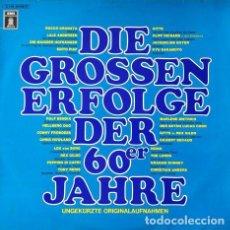 Discos de vinilo: DIE GROSSEN ERFOLGE DER 60ER JAHRE . GRANDES EXITOS DE LOS AÑOS 60 . DOBLE LP . EMI ODEON GERMANY. Lote 32706237