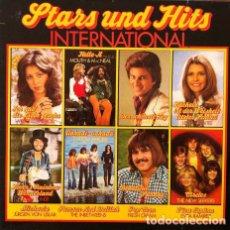 Discos de vinilo: STARS UND HITS INTERNATIONAL . DOBLE LP . EXITOS AÑOS 70 . PHILIPS GERMANY. Lote 32720658