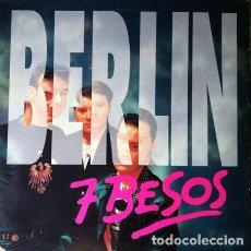 Discos de vinilo: BERLIN - SIETE BESOS . MAXI SINGLE . 1993 MAX MUSIC. Lote 32726112