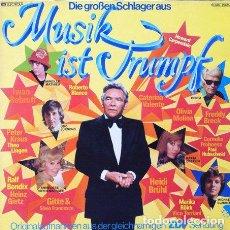 """Discos de vinilo: DIE GROSSEN SCHLAGER AUS """"MUSIK IST TRUMPF"""" - GRANDES EXITOS DE LOS 70 . LP . 1978 EMI GERMANY. Lote 32734357"""