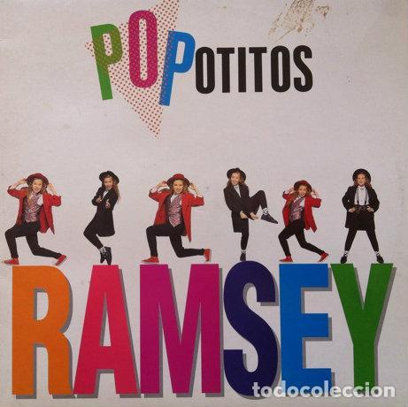 RAMSEY - POPOTITOS . MAXI SINGLE . 1991 MERCURY (Música - Discos de Vinilo - Maxi Singles - Grupos Españoles de los 90 a la actualidad)