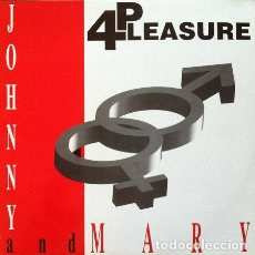 Discos de vinilo: 4 PLEASURE - JOHNNY AND MARY . MAXI SINGLE . 1995 MAX MUSIC. Lote 32750560