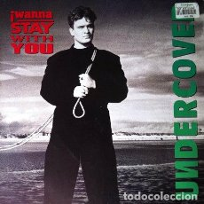 Discos de vinilo: UNDERCOVER - I WANNA STAY WITH YOU . MAXI SINGLE . 1993 PWL GERMANY. Lote 32798958