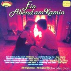 Discos de vinilo: EIN ABEND AM KAMIN - LP . 1980 ARCADE GERMANY . RAY CHARLES . NAT KING COLE , PAUL ANKA ...... Lote 32950763