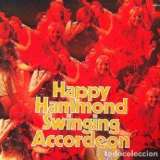 Discos de vinilo: HAPPY HAMMOND SWINGING ACCORDEON . DOBLE LP . S*R INTERNATIONAL GERMANY. Lote 32968480