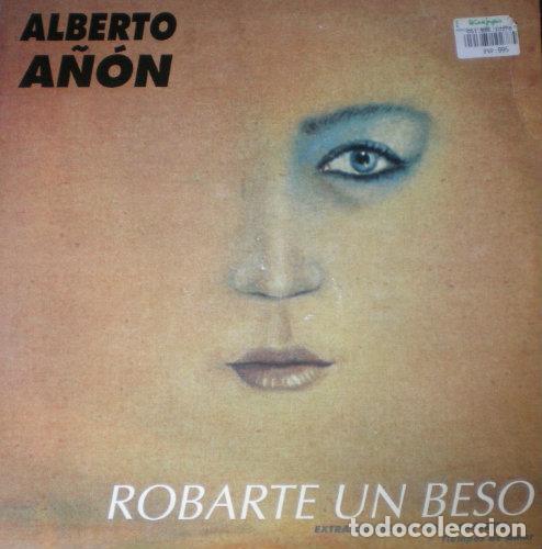 ALBERTO AÑÓN - ROBARTE UN BESO . MAXI SINGLE . 1994 BOY RECORDS (Música - Discos de Vinilo - Maxi Singles - Solistas Españoles de los 70 a la actualidad)
