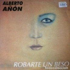 Discos de vinilo: ALBERTO AÑÓN - ROBARTE UN BESO . MAXI SINGLE . 1994 BOY RECORDS. Lote 33237000