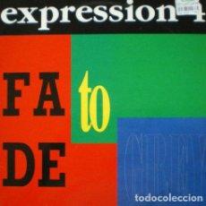 Discos de vinilo: EXPRESSION 4 - FADE TO GREY . MAXI SINGLE . 1993 BOY RECORDS. Lote 33456662