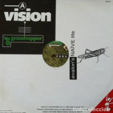 Discos de vinilo: VISION OF GRASSHOPPER - AVALON'S NAIVE LIFE . MAXI SINGLE . 1993 LUCAS RECORDS. Lote 33652084