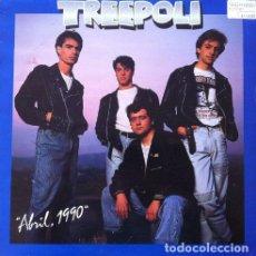 Discos de vinilo: TREEPOLI - ABRIL, 1990 . LP . 1990 ASPA RECORDS . Lote 33663359