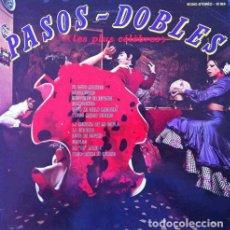 Discos de vinilo: PASOS DOBLES - LES PLUS CELEBRES ( ORQUESTA CARLOS ROMERO ) . LP . VYGSON FRANCIA REF 10 189. Lote 33712055
