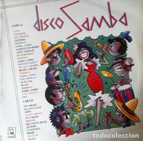 DISCO SAMBA - MANU MANAOS / EL CHATO .LP . 1987 EDICIONES MUSICALES HORUS (Música - Discos de Vinilo - Maxi Singles - Grupos y Solistas de latinoamérica)