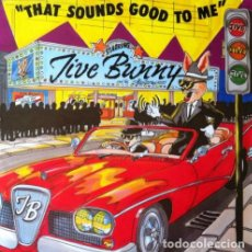 Discos de vinilo: JIVE BUNNY AND THE MASTERMIXERS - THAT SOUNDS GOOD TO ME . MAXI SINGLE . 1990 BCM RECORDS GERMANY . Lote 33796805