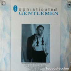 Discos de vinilo: SOPHISTICATED GENTLEMEN DOBLE LP . 1987 UK. ANDY WILLIAMS .TONI BENNETT. MATT MONRO . DEAN MARTIN. Lote 33820432