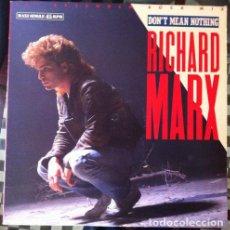 "Discos de vinilo: RICHARD MARX - DON'T MEAN NOTHING (12"" EXTENDED ROCK MIX) . MAXI SINGLE . 1987 MANHATTAN RECORDS. Lote 33892291"