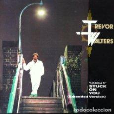 Discos de vinilo: TREVOR WALTERS - STUCK ON YOU . MAXI SINGLE . 1985 POLYDOR . Lote 33905391