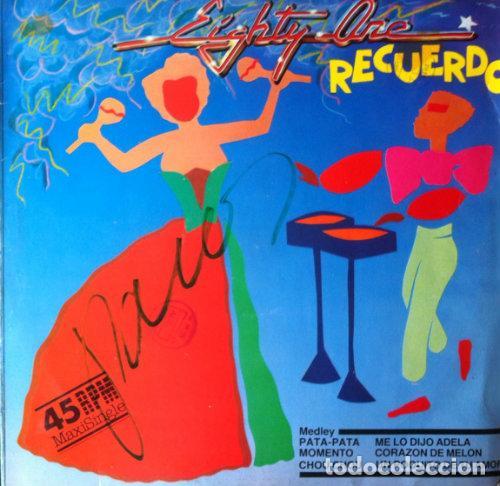 RECUERDO - EIGHTY ONE . MAXI SINGLE . 1984 PDI (Música - Discos de Vinilo - Maxi Singles - Grupos Españoles de los 90 a la actualidad)