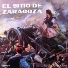 Discos de vinilo: EL SITIO DE ZARAGOZA . LP . 1973 OLYMPO. Lote 33966165