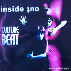 Discos de vinilo: CULTURE BEAT - INSIDE OUT (REMIX) . DOBLE MAXI SINGLE . 1995 DANCE POOL GERMANY. Lote 34003836