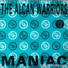 Discos de vinilo: THE ALCAN WARRIORS - MANIAC . MAXI SINGLE . 1991 D-ZONE RECORDS UK. Lote 34159762