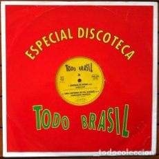 Discos de vinilo: TODO BRASIL - ESPECIAL DISCOTECA . MAXI SINGLE . 1993 PHILIPS . . Lote 34160446