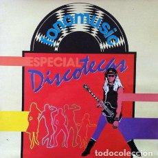 Disques de vinyle: FONOMUSIC - ESPECIAL DISCOTECAS . LP . 1986 - KIKI ROXA . MISION IMPOSIBLE . LA VIEJA BANDA ..... Lote 34161014