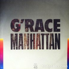 Discos de vinilo: G'RACE - MANHATTAN . MAXI SINGLE . 1983 WEA. Lote 34225019