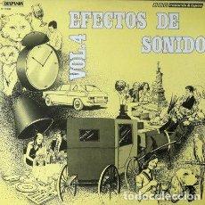 Discos de vinilo: EFECTOS DE SONIDO VOL 4 . LP . DIAL DISCOS 1981. Lote 34225117