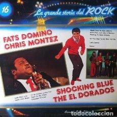 Discos de vinilo: LA GRANDE STORIA DEL ROCK VOL. 16 . LP . CURCIO ITALIA . FATS DOMINO . CHRIS MONTEZ . SHOCKING BLUE. Lote 34239139