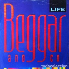 Discos de vinilo: BEGGAR & CO - LIFE . MAXI SINGLE . 1986 TOTAL CONTROL UK. Lote 34240788