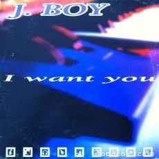 Discos de vinilo: J. BOY - I WANT YOU . MAXI SINGLE . 1998 MELODY EXPERIENCES . Lote 34390748