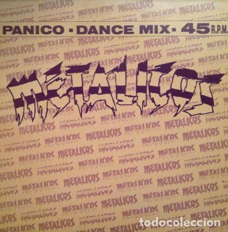 METALICOS - PÁNICO . MAXI SINGLE . 1992 VIRGIN RECORDS (Música - Discos de Vinilo - Maxi Singles - Grupos Españoles de los 90 a la actualidad)