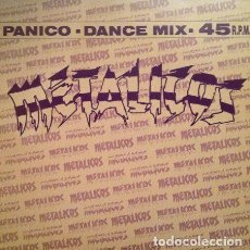 Discos de vinilo: METALICOS - PÁNICO . MAXI SINGLE . 1992 VIRGIN RECORDS . Lote 34636634