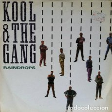 Discos de vinilo: KOOL & THE GANG - RAINDROPS . MAXI SINGLE . 1989 MERCURY . Lote 34650452
