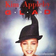 Discos de vinilo: KIM APPLEBY - G.L.A.D. . MAXI SINGLE . 1991 PARLOPHONE . Lote 34666850
