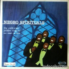 Discos de vinilo: THE CALIFORNIAN JUBILEE SINGERS CON ROBERT MC FERRIN - NEGRO SPIRITUALS . LP . 1968 SONOPLAY. Lote 35077670