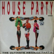 Discos de vinilo: HOUSE PARTY -THE ULTIMATE MEGAMIX III . DOBLE LP . 1992 ARCADE. Lote 35116583