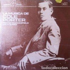 Discos de vinilo: FRANK CHACKSFIELD Y SU ORQUESTA - LA MUSICA DE COLE PORTER . LP . 1981 DECCA. Lote 35273401