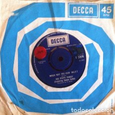 Discos de vinilo: THE POPPY FAMILY - WHICH WAY YOU GOIN' BILLY? . SINGLE . 1969 DECCA UK. Lote 35312475