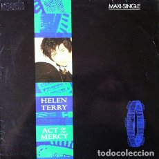 Discos de vinilo: HELLEN TERRY - ACT OF MERCY . MAXI SINGLE . 1986 VIRGIN RECORDS. Lote 35343542