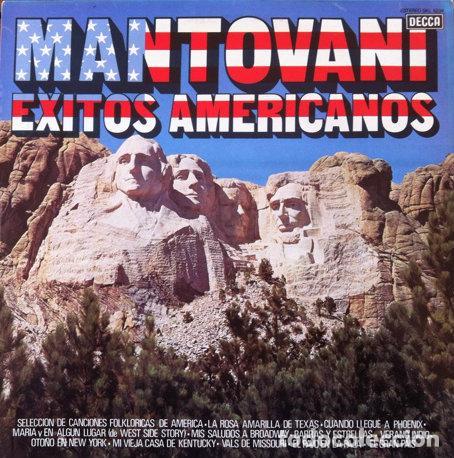 MANTOVANI - EXITOS AMERICANOS . LP . 1981 DECCA . 6399252 (Música - Discos - LP Vinilo - Orquestas)