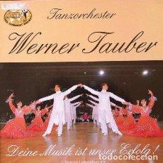 Discos de vinilo: WERNER TAUBER - TANZORCHESTER . LP . ALPANA 44012. Lote 35400237