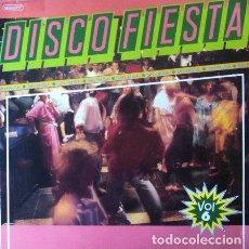 Discos de vinilo: ORQUESTA SIBONEY - DISCO FIESTA VOL 6 . LP . 1988 DIAL DISCOS . Lote 35435393