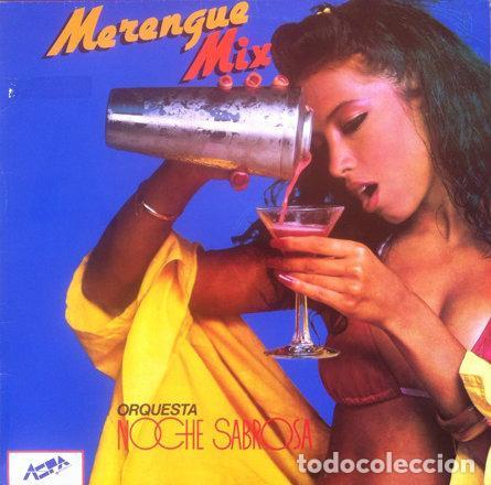 ORQUESTA NOCHE SABROSA - MERENGUE MIX . LP . 1986 ASPA RECORDS . PL AS 1004 (Música - Discos - LP Vinilo - Grupos y Solistas de latinoamérica)