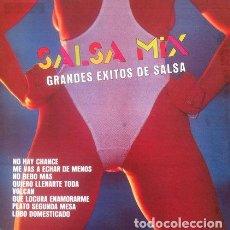 Discos de vinilo: ORQUESTA BORINQUEN ALL STAR - SALSA MIX . LP . 1987 ESTUDIOS BORINQUEN PUERTO RICO . DDD-1514. Lote 35496803